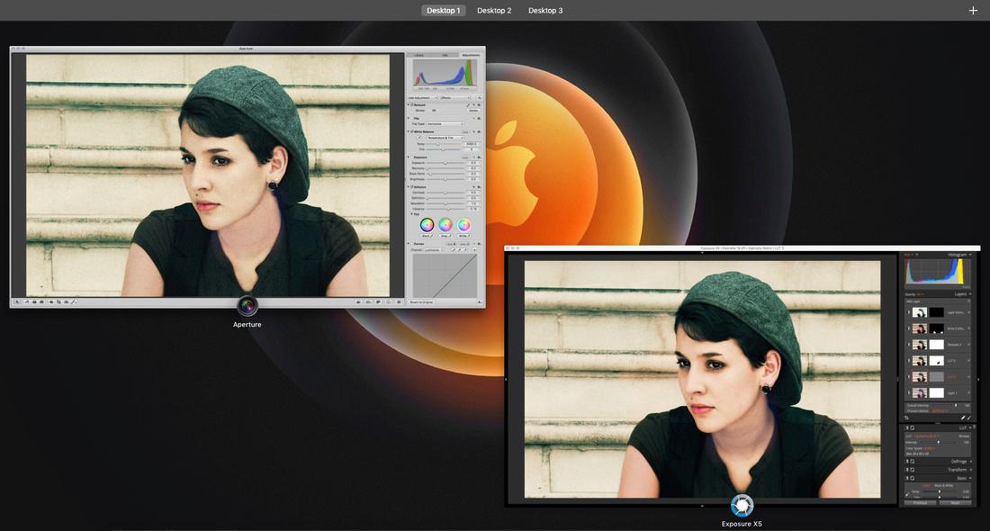 Aperture-Exposure X5 screens