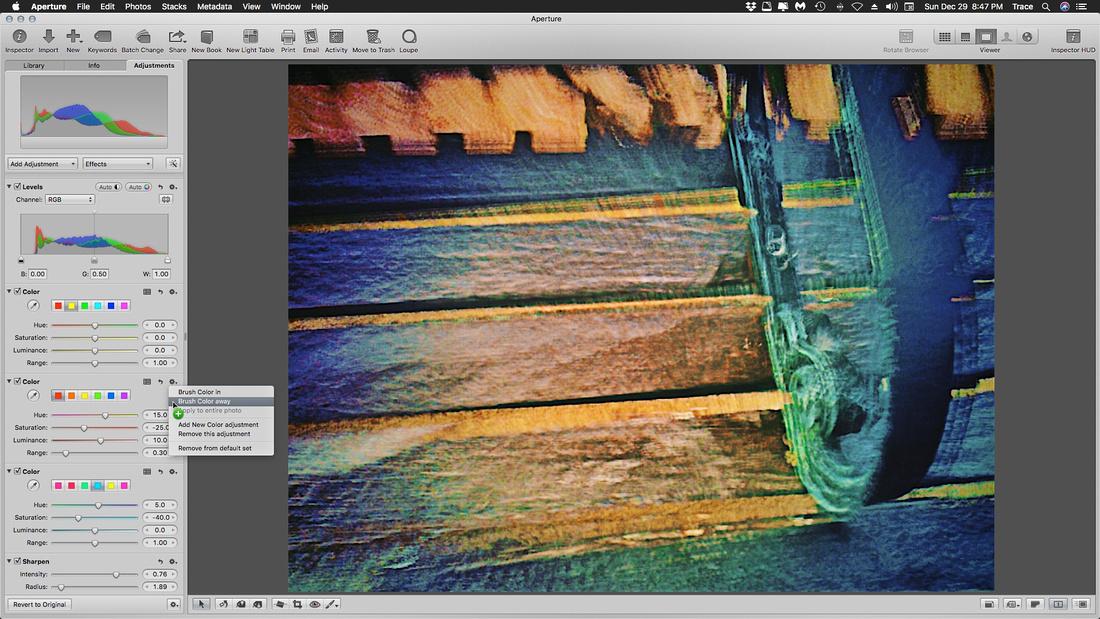Aperture -Multi Stacks-Brush Color away