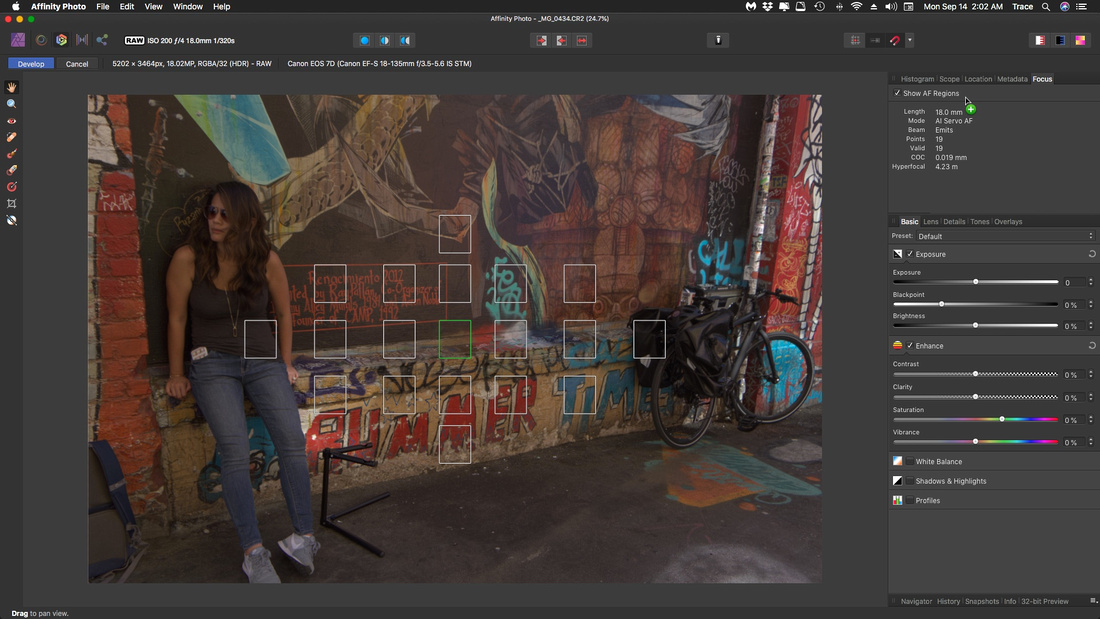 Affinity Photo RAW Process Focus Points